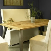 Union Rustic Hamlet Recycled Mosaic Teak Dining Table