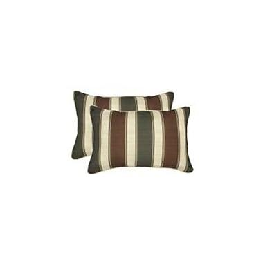 Loon Peak Finola Outdoor Lumbar Pillow (Set of 2)