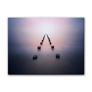Ready2hangart 'Alone in the Silence' Photographic Print on Canvas; 16'' H x 20'' W