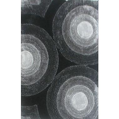 Varick Gallery Prism Gray Area Rug; 5'3'' x 7'2''