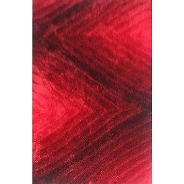 Varick Gallery Priston Red Area Rug; 3' x 5'