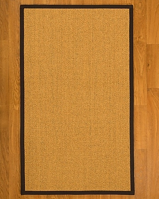 Alcott Hill Pritzker Sisal Fudge Area Rug; 3' X 5'