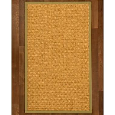 Alcott Hill Pritzker Sisal Khaki Area Rug; 9' X 12'