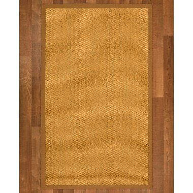 Alcott Hill Pritzker Sisal Sienna Area Rug; 8' X 10'