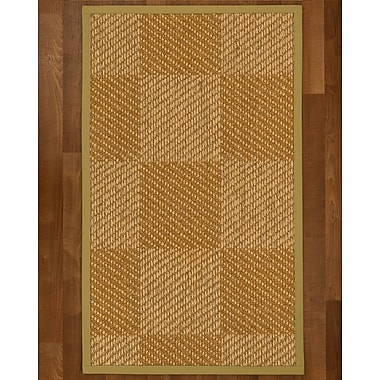Bayou Breeze Adley Sisal Khaki Area Rug; 4' X 6'