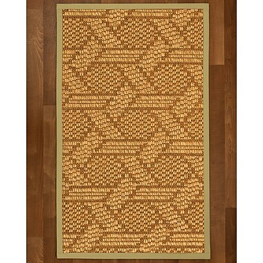 Bayou Breeze Aalin Sisal Sand Area Rug; 5' X 8'