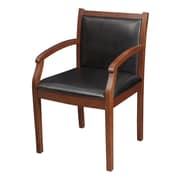 Latitude Run Raylen Guest Chair; Cherry