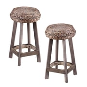 Bayou Breeze Shiena 24'' Bar Stool (Set of 2)