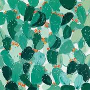Bungalow Rose 'Leaf' Oil Panting Print on Canvas