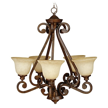 Fleur De Lis Living Mandy 5-Light Pendant