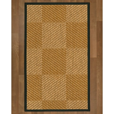Bayou Breeze Adley Sisal Metal Area Rug; 3' X 5'