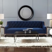 Brayden Studio Crouse Sofa; Navy