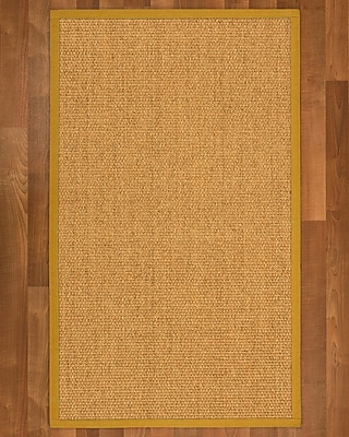 Winston Porter Healey Sisal Tan Area Rug; 4' X 6'