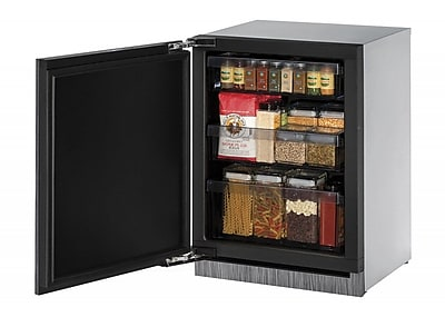 U-Line 3000 Series 24-inch 4.9 cu. ft. Undercounter Refrigeration; Left