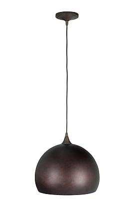 Varick Gallery Presler 1-Light Mini Pendant; Grunge Ruse
