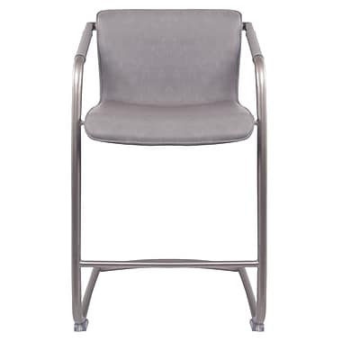 Union Rustic Weinrauch Bar Stool (Set of 2); Antique Graphite Gray