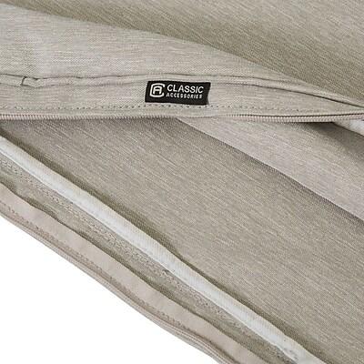 Bayou Breeze Fadesafe? Outdoor Chaise Lounge Cushion; Gray