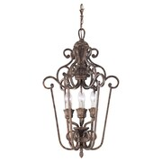 Astoria Grand Beauford Foyer Pendant; Regal Bronze