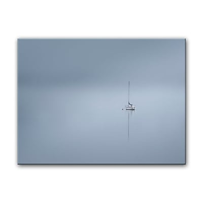Breakwater Bay 'The Lonesome Boatman' Photographic Print on Canvas; 20'' H x 30'' W