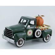 The Holiday Aisle Halloween Pumpkin Truck; Green