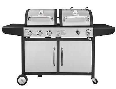 Royal Gourmet 3 Burner Liquid Propane Gas Grill; Stainless Steel