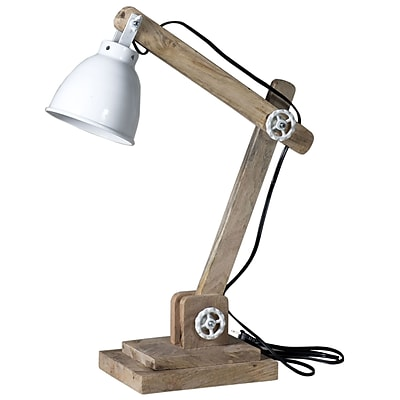 STYLE N LIVING Theodore 17.75'' Table Lamp; Natural/White