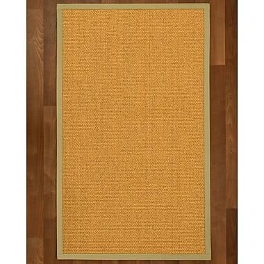 Alcott Hill Pritzker Sisal Sand Area Rug; 4' X 6'