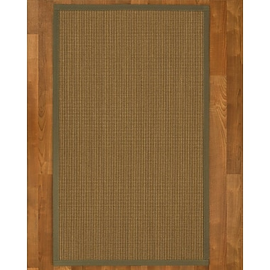 Bayou Breeze Asther Sisal Fossil Area Rug; 8' X 10'