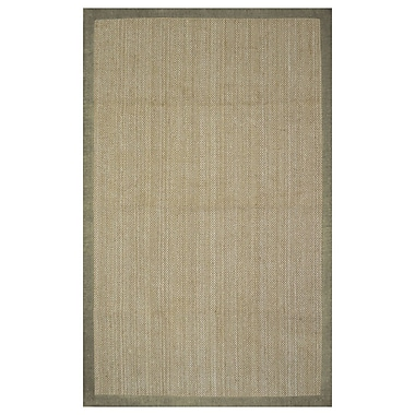 Alcott Hill Ridgway Maple Hand Woven Area Rug