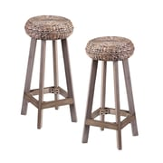Bayou Breeze Shiena 30'' Bar Stool (Set of 2)