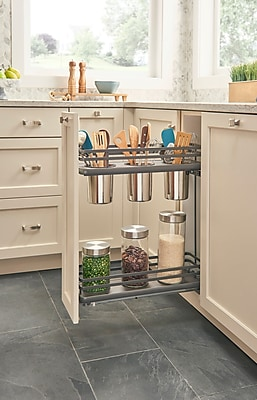 Rev-A-Shelf Orion 3-Container Base Pull Out Pantry