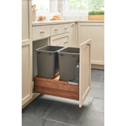 Rev-A-Shelf Double Waste Container Trash Can Pull Out Drawer