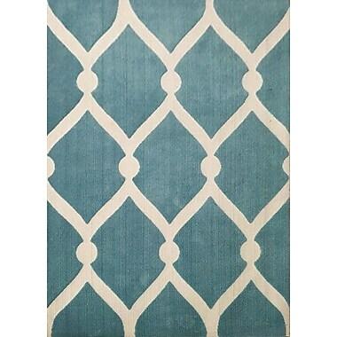 Brayden Studio Berard Blue Area Rug; 7'11'' x 9'10''