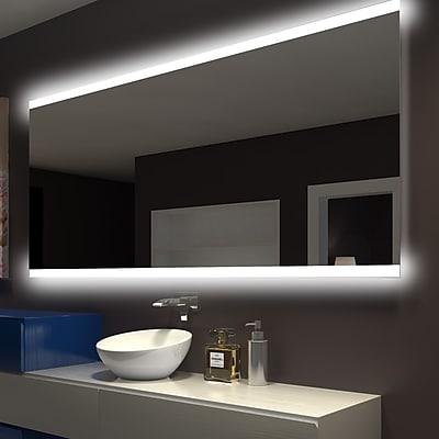 Orren Ellis Keshwar Backlit Vanity Mirror