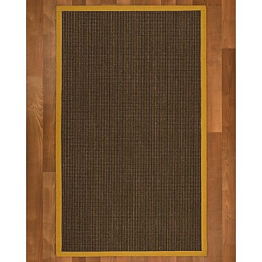 Winston Porter Hedlund Sisal Tan Area Rug; 3' X 5'