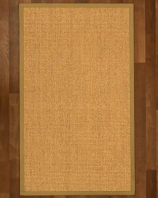 Winston Porter Healey Sisal Sage Area Rug; 4' X 6'