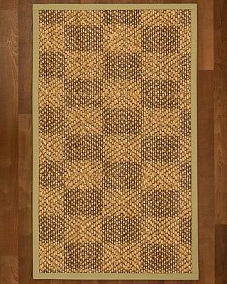 Winston Porter Hearne Sisal Sand Area Rug; 5' X 8'