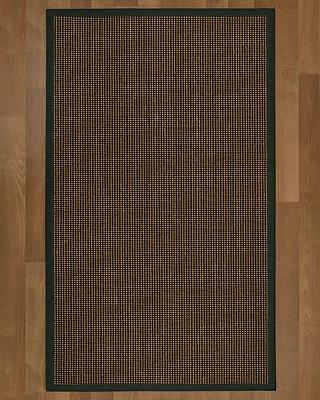 Winston Porter Hedlund Sisal Metal Area Rug; 6' X 9'