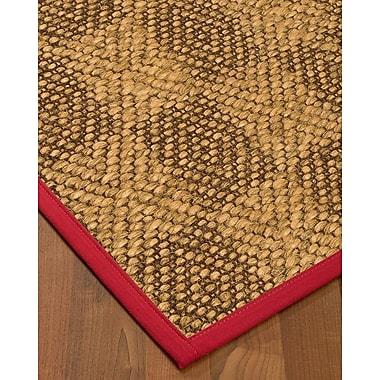 Winston Porter Hearne Sisal Red Area Rug; 8' X 10'