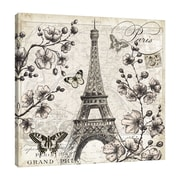Ophelia & Co. 'Paris in the Springtime: Eiffel Tower' Graphic Art Print on Wrapped Canvas