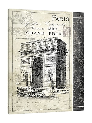 Ophelia & Co. 'Paris Exposition: Arxh D' Triumph II' Graphic Art Print on Wrapped Canvas