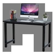 Winston Porter Greenhalge Stylish Home Office Computer Desk; Black