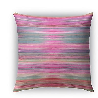 Brayden Studio Ishee Burlap Indoor/Outdoor Pillow; 16'' H x 16'' W x 5'' D