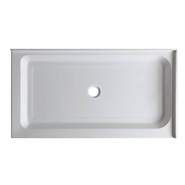 ANZZI Port 36'' x 48'' Double Threshold Shower Base
