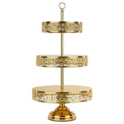 Astoria Grand Radcliffe Tiered Stand; Gold