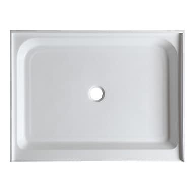 ANZZI Reach 36'' x 48'' Double Threshold Shower Base