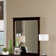 Harriet Bee Javin Mirror; Chocolate
