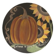 The Holiday Aisle Something Beautiful Pumpkin Decorative Plate