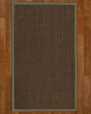 Winston Porter Hedlund Sisal Stone Area Rug; 6' X 9'
