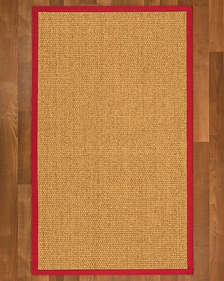 Winston Porter Healey Sisal Red Area Rug; 9' X 12'